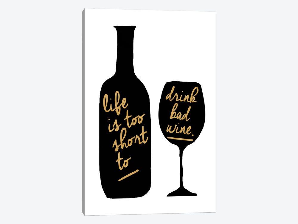 Bad Wine by Erin Clark 1-piece Art Print