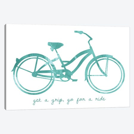 Bike I Canvas Print #ECK122} by Erin Clark Canvas Art