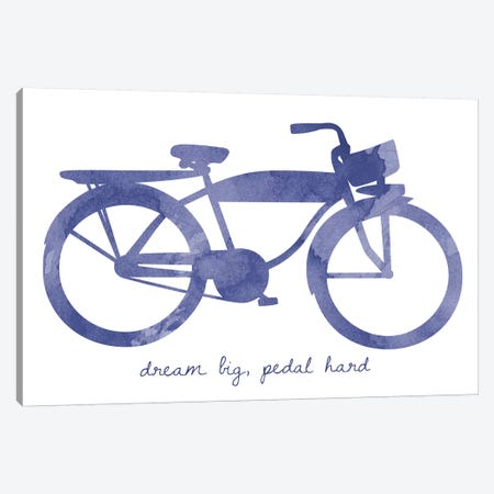 Bike II Canvas Print #ECK123} by Erin Clark Canvas Artwork