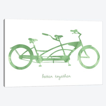 Bike III Canvas Print #ECK124} by Erin Clark Canvas Art Print