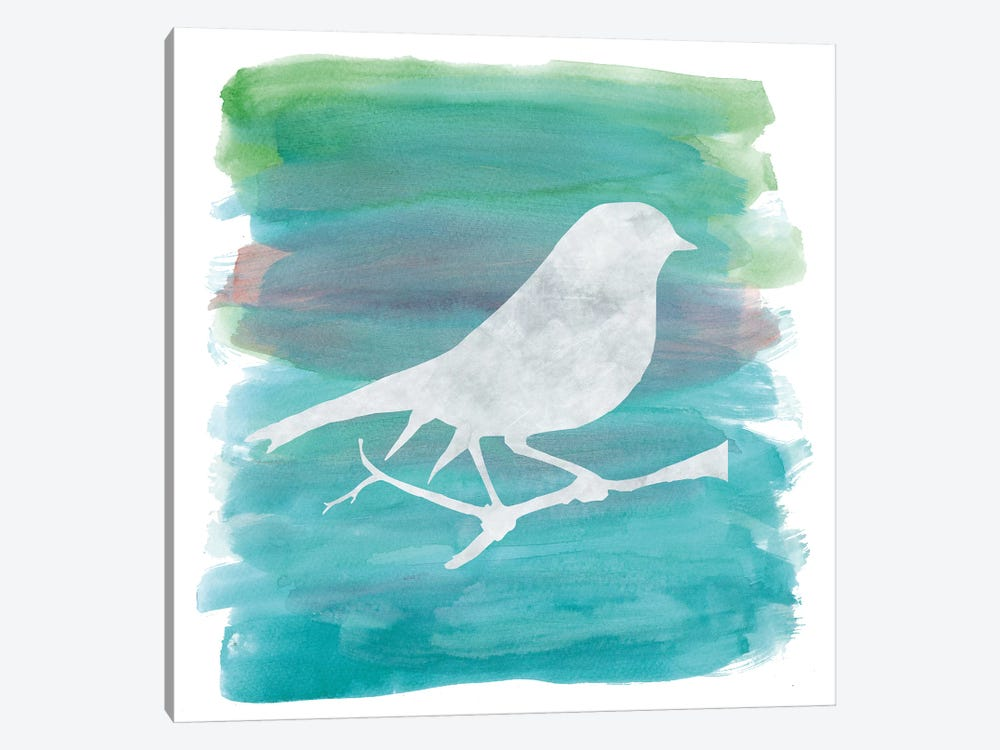 Bird Silhouette I by Erin Clark 1-piece Canvas Wall Art