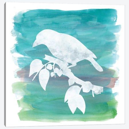 Bird Silhouette II Canvas Print #ECK127} by Erin Clark Canvas Print