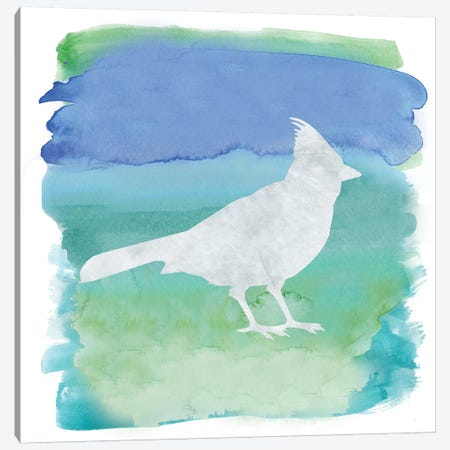 Bird Silhouette III Canvas Print #ECK128} by Erin Clark Canvas Artwork