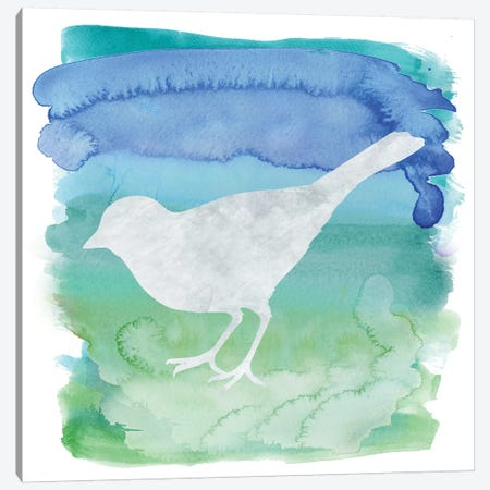 Bird Silhouette IV Canvas Print #ECK129} by Erin Clark Canvas Wall Art