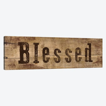 Blessed 3-Piece Canvas #ECK132} by Erin Clark Canvas Print