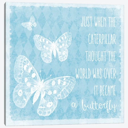 Butterflies Canvas Print #ECK144} by Erin Clark Canvas Art Print