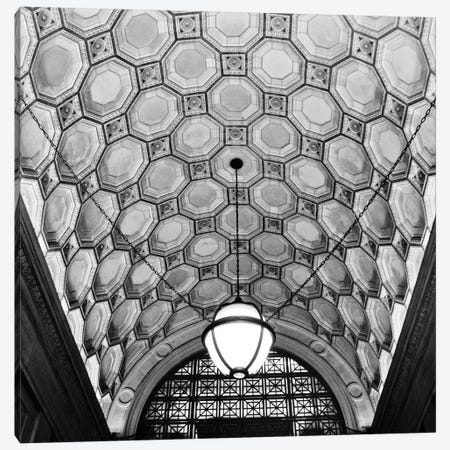 Ceiling Detail Canvas Print #ECK149} by Erin Clark Canvas Art