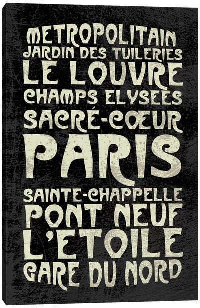 Paris Canvas Print #ECK14