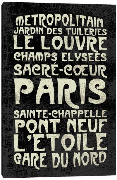 Paris Canvas Print #ECK14