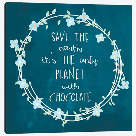 Chocolate Canvas Print #ECK153} by Erin Clark Art Print