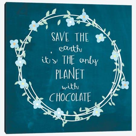 Chocolate Canvas Print #ECK153} by Erin Clark Art Print
