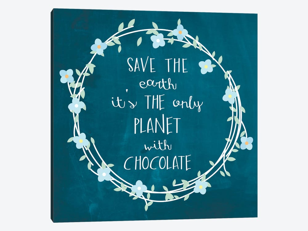Chocolate by Erin Clark 1-piece Canvas Wall Art