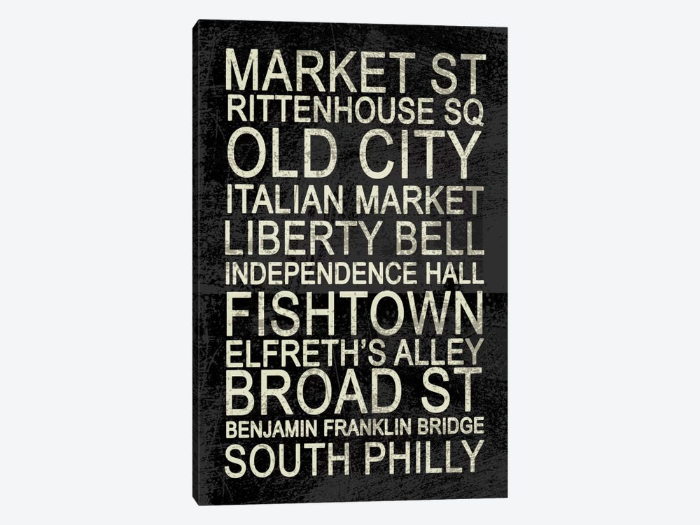 Philly by Erin Clark 1-piece Art Print