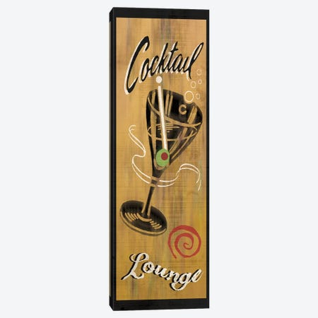 Cocktail Lounge Canvas Print #ECK161} by Erin Clark Canvas Art