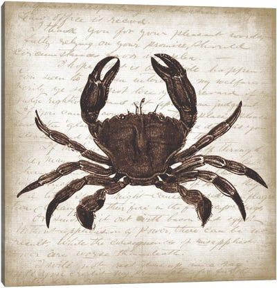 Crab I Canvas Art Print