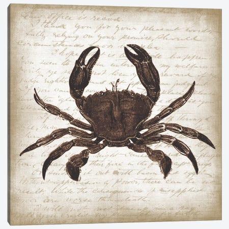Crab I Canvas Print #ECK172} by Erin Clark Canvas Art Print
