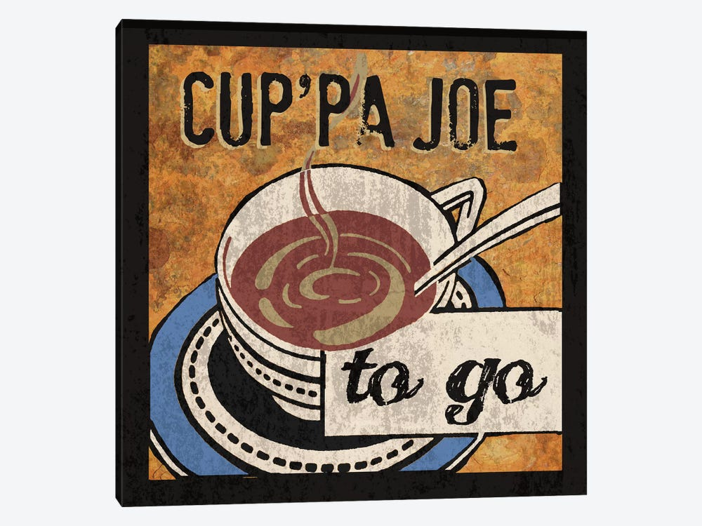 Cup'Pa Joe by Erin Clark 1-piece Canvas Artwork