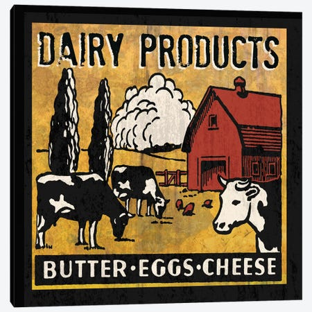 Dairy Products Canvas Print #ECK180} by Erin Clark Canvas Wall Art
