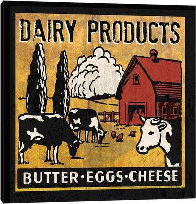 Dairy Products Canvas Art Print