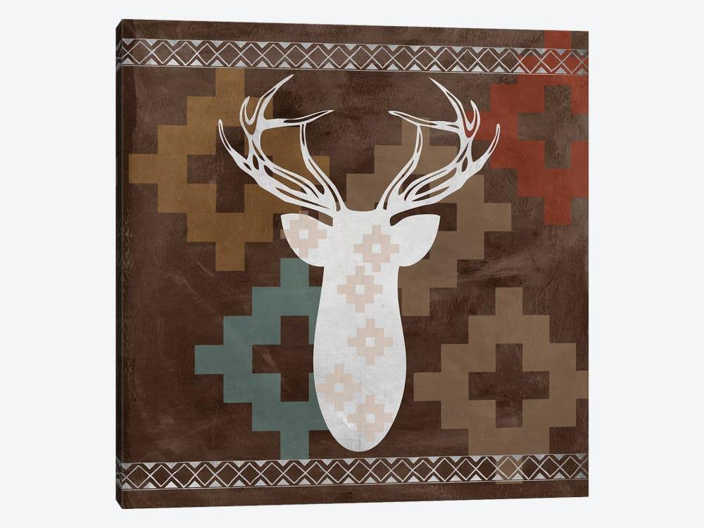 Deer Rack I by Erin Clark 1-piece Canvas Print