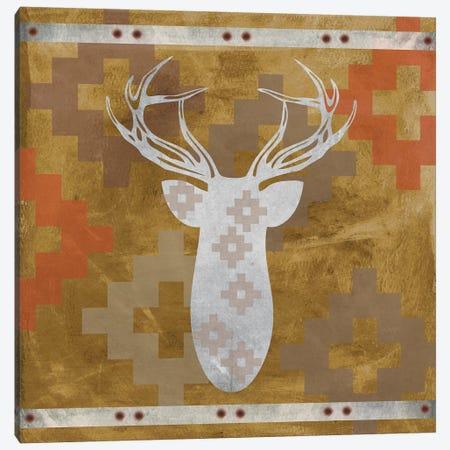 Deer Rack II Canvas Print #ECK182} by Erin Clark Canvas Artwork