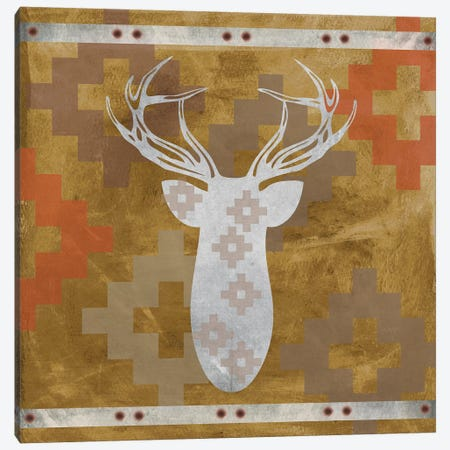 Deer Rack II Canvas Print #ECK182} by Erin Clark Canvas Artwork