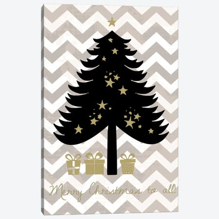 Christmas Tree Canvas Print #ECK18} by Erin Clark Art Print
