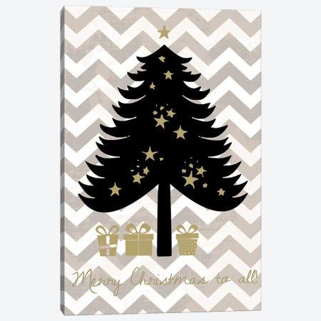 Christmas Tree Canvas Print #ECK18} by Erin Clark Art Print