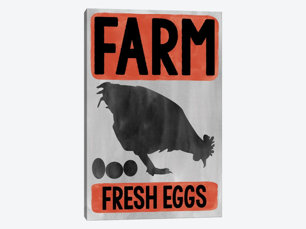 Eggs by Erin Clark 1-piece Canvas Art Print
