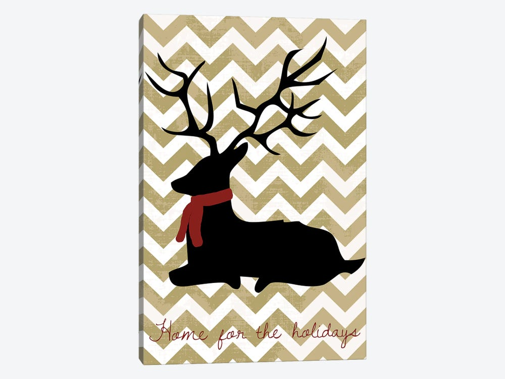 Deer by Erin Clark 1-piece Canvas Print