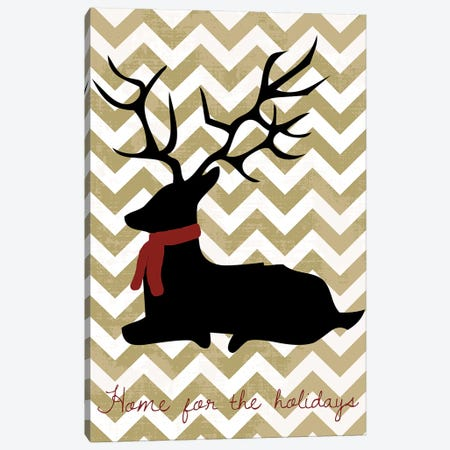 Deer Canvas Print #ECK19} by Erin Clark Canvas Print