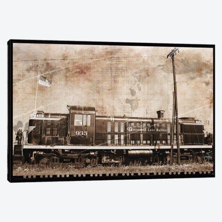 Erie Train II Canvas Print #ECK202} by Erin Clark Art Print