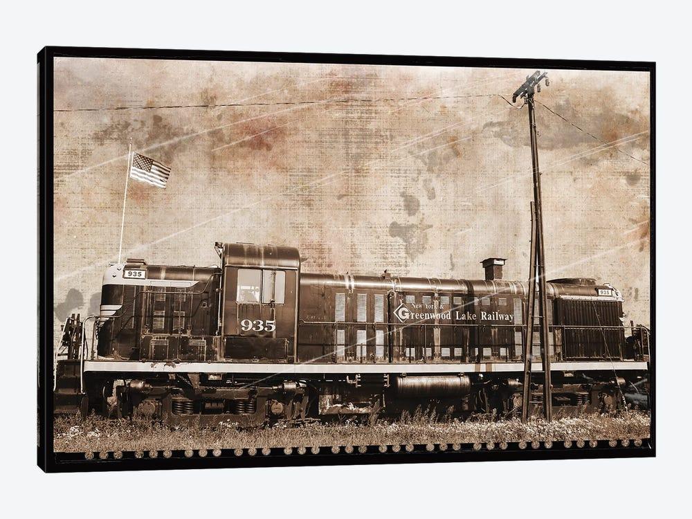 Erie Train II by Erin Clark 1-piece Canvas Artwork