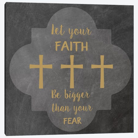 Faith Fear II Canvas Print #ECK207} by Erin Clark Canvas Art