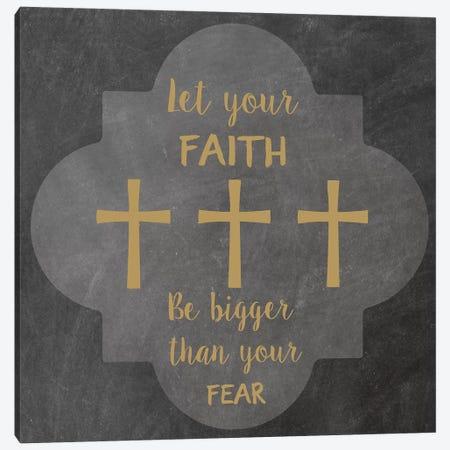 Faith Fear II Canvas Print #ECK207} by Erin Clark Canvas Art