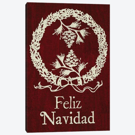 Feliz III Canvas Print #ECK20} by Erin Clark Canvas Wall Art