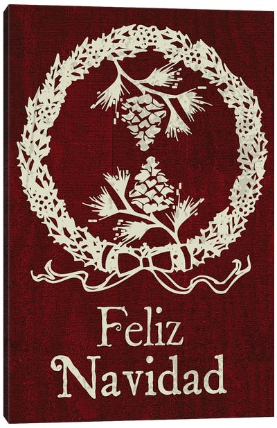 Feliz III Canvas Art Print