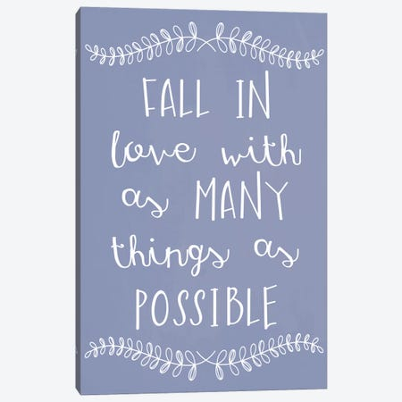 Fall In Love 3-Piece Canvas #ECK210} by Erin Clark Canvas Art