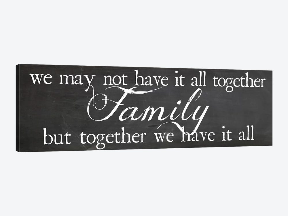 Family Together by Erin Clark 1-piece Canvas Art