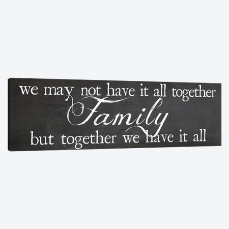 Family Together Canvas Print #ECK215} by Erin Clark Canvas Print