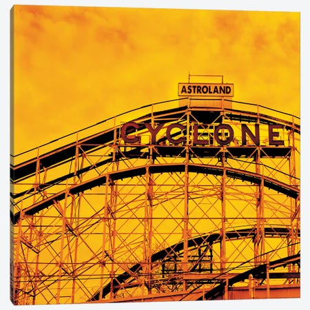 Flaming Cyclone 3-Piece Canvas #ECK225} by Erin Clark Canvas Artwork