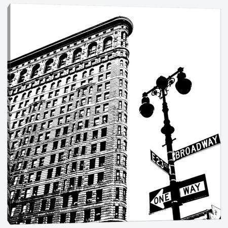 Flatiron  Canvas Print #ECK226} by Erin Clark Canvas Wall Art
