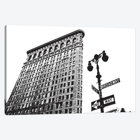 Flatiron Square Canvas Print #ECK227} by Erin Clark Canvas Wall Art