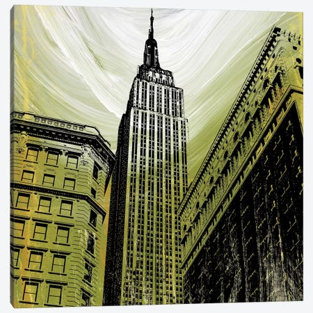 Gilded Empire 3-Piece Canvas #ECK241} by Erin Clark Art Print