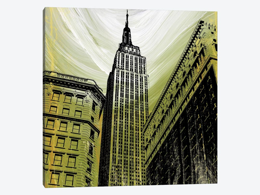 Gilded Empire by Erin Clark 1-piece Art Print