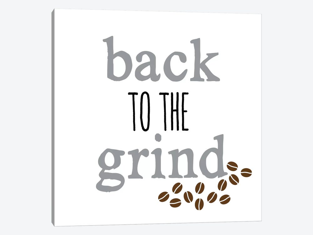 Grind by Erin Clark 1-piece Canvas Art
