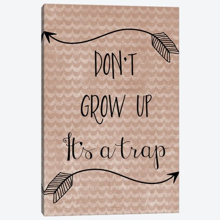 Grow Up Canvas Print #ECK257} by Erin Clark Canvas Art Print