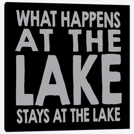 Happens Lake Canvas Print #ECK258} by Erin Clark Canvas Artwork