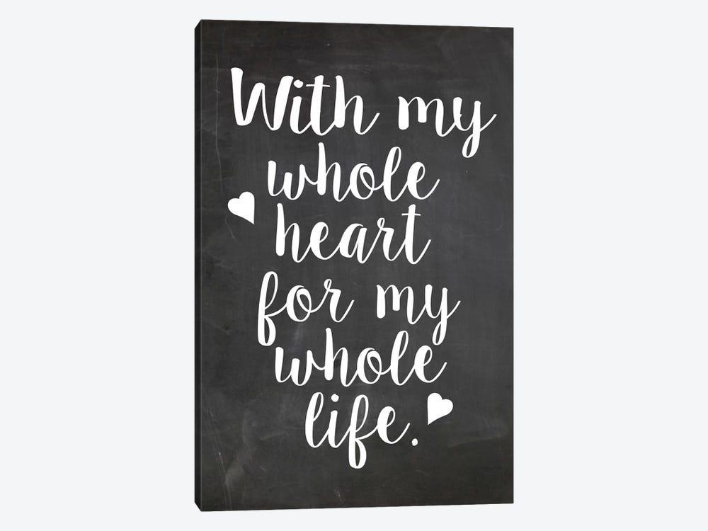 Heart by Erin Clark 1-piece Canvas Print