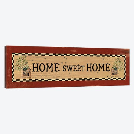 Home Sweet Home Canvas Print #ECK268} by Erin Clark Canvas Art Print